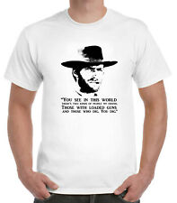 Clint Eastwood T-Shirt Cowboy Western Spaghetti You Dig quote