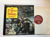 7TH VOYAGE OF SINBAD Bernard HERRMANN OST varese LP vinyl '80 soundtrack rare!!