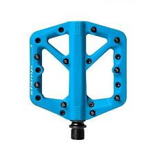 Crank Brothers Stamp 1 Mountain Bike Pedals - BLUE Small - NEW
