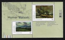 Canada Stamps — Souvenir Sheet — Art, Homer Watson #2110 — MNH