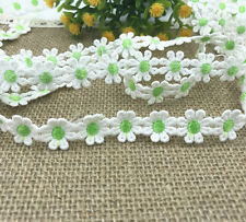 3 Yard Crochet chrysanthemum Lace Trim Wedding Bridal Ribbon Sewing Crafts