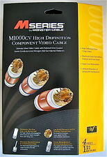 Monster Cable M Series M1000CV High Definition Component Video 4Ft/1.21m HDTV CV