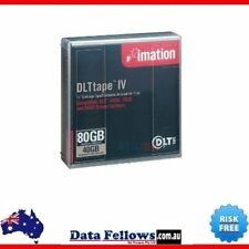 "2x Imation DLT 4 Imation DLTtape IV 1/2"" Cartridge Tape 80GB Comp DLT 4000 7000"