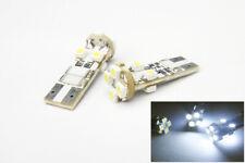 2x 194 168 T10 Error Free 8 SMD LED Front Side Marker Light Bulb White for GMC