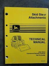 John Deere Skid Steer Attachments Technical Manual John Deere Commercial