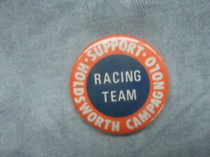 SUPPORT HOLDSWORTH CAMPAGNOLO RACING TEAM TIN BADGE