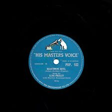 CLASSIC ELVIS PRESLEY 78  HEARTBREAK HOTEL / I WAS THE ONE  UK HMV POP 182 E/E-