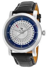 Lucien Piccard Ruleta Date Indicator Mens Watch LP-40014-02S-BLC