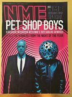 NME MAGAZINE PET SHOP BOYS Feb 2017 UK Kasabian Blossems Nick Cave