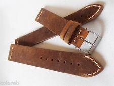 Cinturino pelle vintage ColaReb VENEZIA marrone 18mm watch band strap bracelet