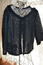 **GEORGIA AND DEAN ***  LACEY COTTON LINED JACKET/CARDI *** SZ 16 **RRP $119