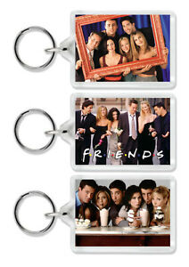 Friends TV Show Keyring /Bag Tag - Choice of 10 *Great Gift*