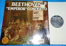 Beethoven - Emperor Concerto / Claudio Arrau, Bernard Haitink / Philips LP NM