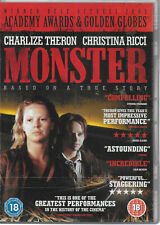 Monster DVD Charlize Theron Christina Ricci