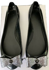 Ted Baker - Women's Black Jelly Pumps  Flat Shoes Size 7