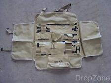 Israeli Defense Force IDF Army .50cal MG Tool / Spare Parts Roll Carrier Case