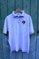 Vintage 1990s AFRO WAX Records High Quality Embroidered Polo T-shirt XL