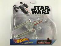 Resistance Y-Wing Fighter Star Wars Hot Wheels Starships FYT71 Disney Die-Cast