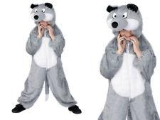 ENFANT LOUP Costume garçons filles Déguisements animaux livre de contes M