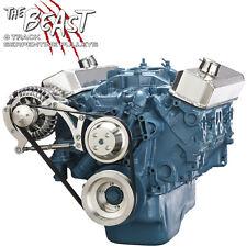 Small Block Chrysler Serpentine Pulley Kit 318 340 360 Mopar Alternator Only