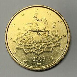 50 CENTESIMI DI EURO 2003 - ITALIA - MARCO AURELIO - GIGANTE 6.03 - CC -