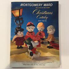 UNUSED - 1967 Montgomery Ward Christmas Catalog - BARBIE - LITTLE KIDDLE - GIJOE