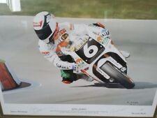 James Whitham 1993 Superbike Print - 72/500 - Signed by James Whitham & Artist