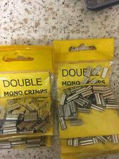 DOUBLE MONO CRIMPS X 4 PACKS