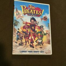 The Pirates! Band of Misfits DVD Movie Video