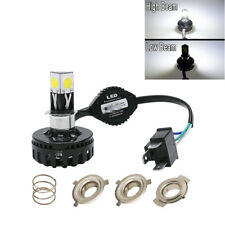 H4 LED Motorcycle Headlight Bulb Hi/Lo Fog Light Lamp For Yamaha Kawasaki Ducati