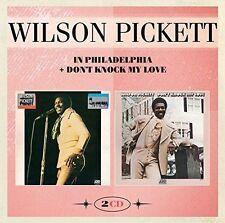 Wilson Pickett - In Philadelphia & Don't Knock My Love [New CD] UK - Import