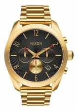 Nixon Bullet Chrono Women Watch (All Gold / Black)