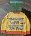 Hulu PROMO Christmas Bobs Burgers  Ugly Sweater Medium NWOT - Complete With Box