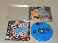 WCW/NWO: Thunder, Near Mint/Complete in Case, Sony Playstation
