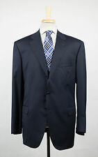 New. BRIONI Parlamento 21 Blue Super 150's Wool 3/2 Button Suit 60/50 S $7895