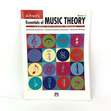 Alfred's Essentials of Music Theory Book 1 Ear Training Workbook