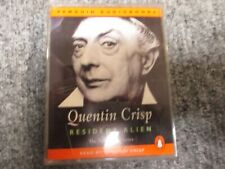 Resident Alien By Quentin Crisp Audiobook on Cassettes / Exc