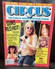 Guns n Roses Souvenir Album Circus Magazine 12/1991