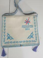 The 7th Asian Winter Games 2011 Flap Bag. Rare Astana Almaty 7th Asian Games