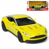 Aston Martin DB11 AMR Coupe 1:32 Model Car Diecast Toy Vehicle Gift Kids Yellow