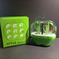 Nail Care (9 pc Manicure Set) Apple Gift Case - Cuticle Clipper
