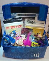 Assorted junk Drawer ~ caboodles polly pocket Pokémon + 80s 90s now Retro lot