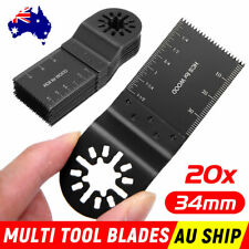 20PCS Oscillating Multi Tool Saw Blades For Fein Bosch Multimaster Makita Ozito