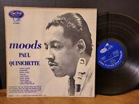 PAUL QUINICHETTE - MOODS Vinyl LP! Paul Chambers Herbie Mann Barry Galbraith