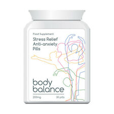 BODY BALANCE STRESS RELIEF ANTI-ANXIETY TABLETS STOP TENSION SWEATY PALMS
