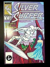 SILVER SURFER 2 (8/87 9.0 non-CGC) MEPHISTO/GALACTUS! SKRULLS! SHALLA-BAL!