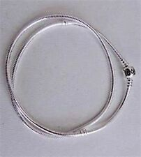 """Genuine Pandora Charm Collier Necklace - Sterling Silver 590703-40 15.75"""""""