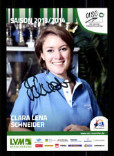 Clara Lena Schneider AUTOGRAPH USC Münster 2013-14 Original Sign + a 169757