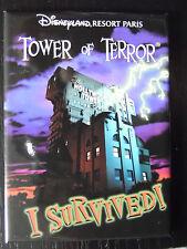 MAGNET RIGIDE DISNEY DISNEYLAND PARIS : HOTEL TOWER OF TERROR