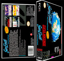 Sim Earth - SNES Reproduction Art Case/Box No Game.